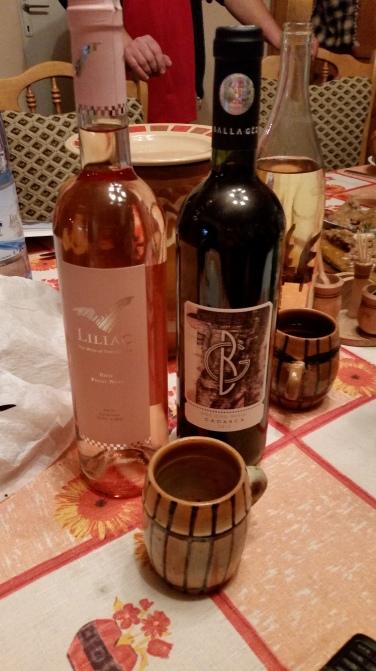 Straight up wine